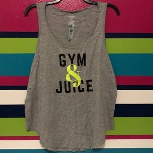 Gym and juice tank